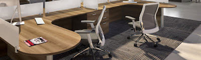 Cherryman Eon Chairs In the Workplace
