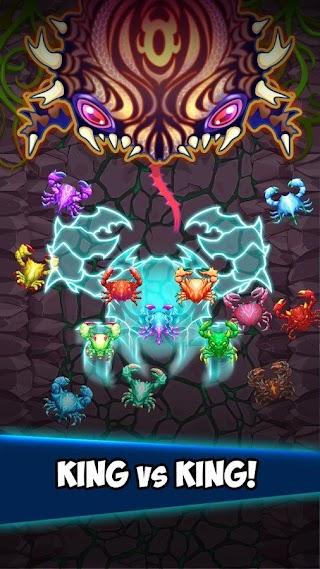 Crab War Idle Swarm Evolution v 3.21.1 MOD APK (Unlimited Money)