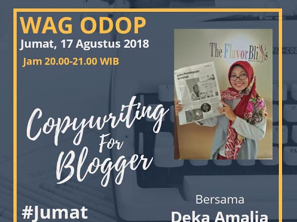 Tips Copywriting for Blogger