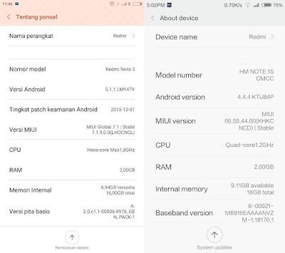 Apakah Rom Smartphone Xiaomi Saya Ini Distributor Abal-Abal? Terus Apa Bedanya Rom Official Global, China dan Distributor?