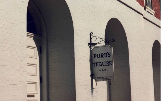 Ford's Theatre sign in D.C.