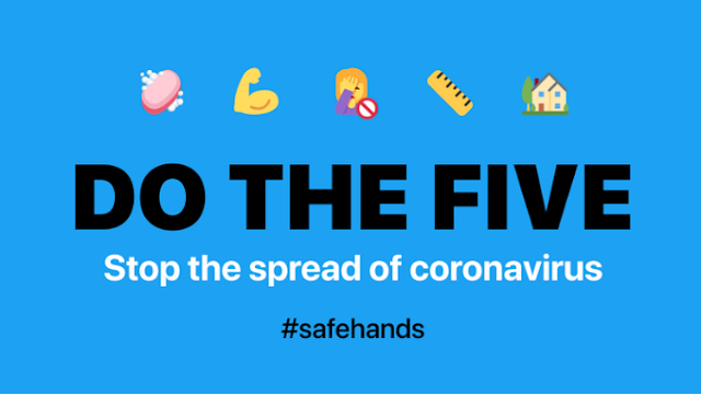 The World Health Organization is advising people to follow five simple steps to help prevent the spread of COVID-19:
