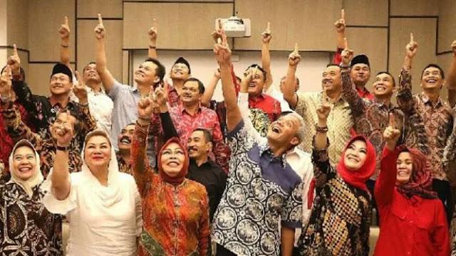 Bawaslu: Deklarasi Ganjar dan 31 Kepala Daerah Dukung Jokowi Langgar UU Pemda