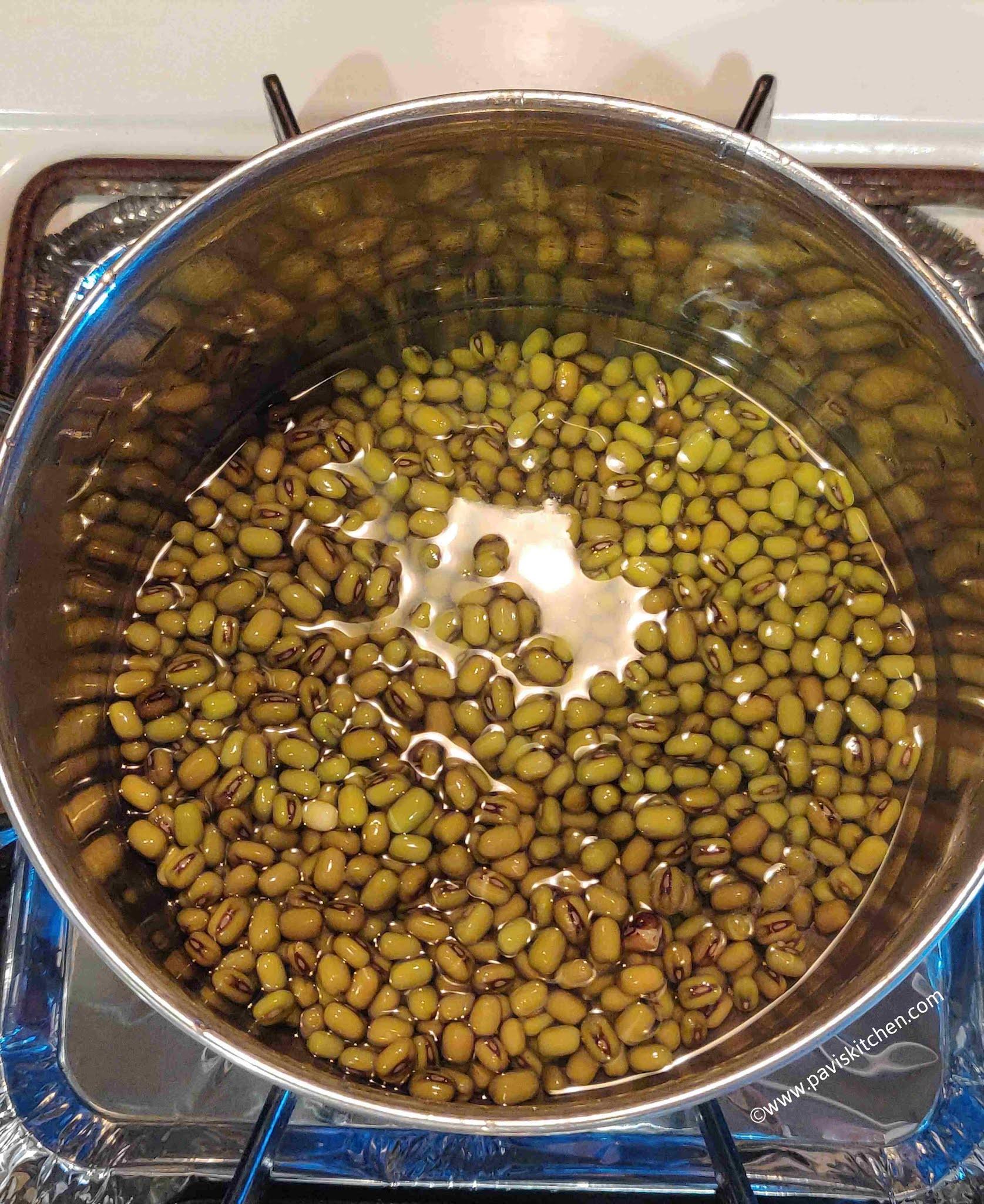 Pachai payaru sundal recipe   green gram sundal recipe   green moong dal sundal