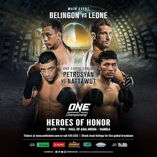 One: Heroes of Honor One Championship