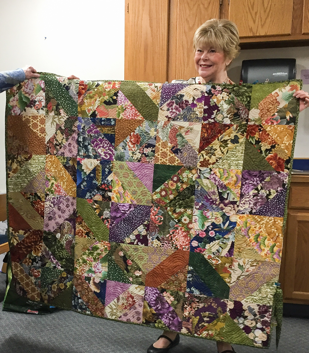 Anchorage Log Cabin Quilters January 18 2018 Show And Tell