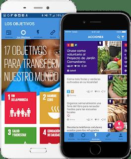 app para Acciones para el desarrollo sustentable ods