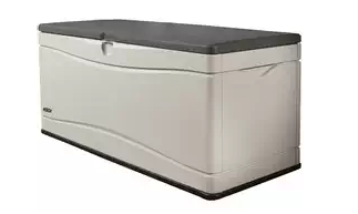 Lifetime 60012 Extra Large Deck Box, Plastic garden Storage Box, Garden Storage Box, Garden Storage Boxes, Plastic Storage Boxes, Garden Boxes, Plastic Deck Storage Container Box, Keter, Suncast, Rubbermaid, Deck Boxes, Plastic Deck Boxes, Lifetime,