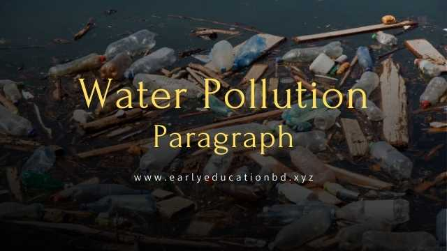 Short Paragraph on Water Pollution Updated in 2020 | EEB