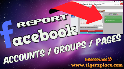 How to report on Facebook (Accounts/Groups/Pages) using Facebook Auto Reporter