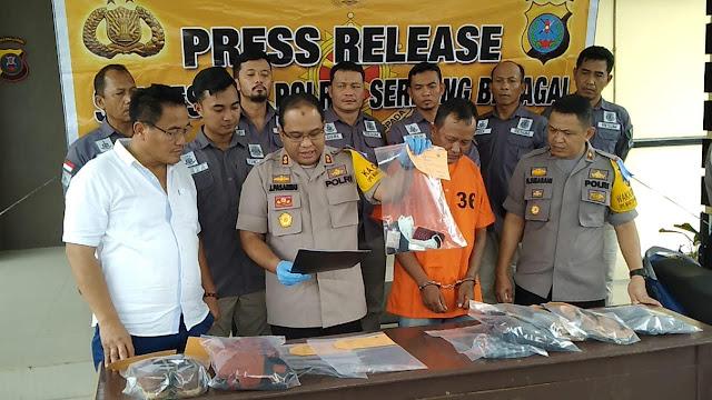 Team Gabungan Reskrim Polres Sergai Ungkap Pelaku Pembunuhan Salim