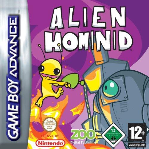 Alien Hominid - Español - Portada