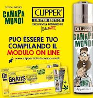 Logo Vinci o ritira gratis il Clipper Canapa Mundi