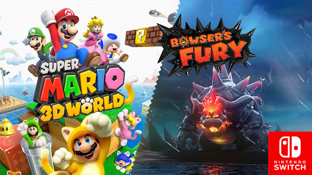 super mario 3d world bowser's fury official trailer nintendo switch platform game 35th anniversary 2020