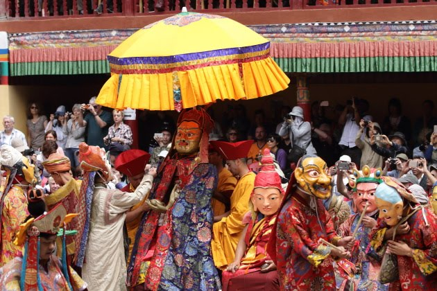 The Eight Manifestations of admasambhava at Hemis Monastery Festival 2016
