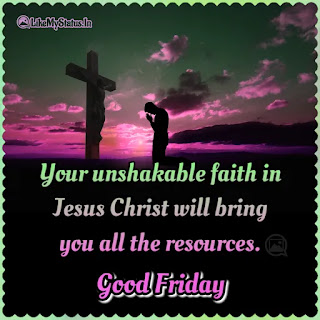 Good Friday English wishes