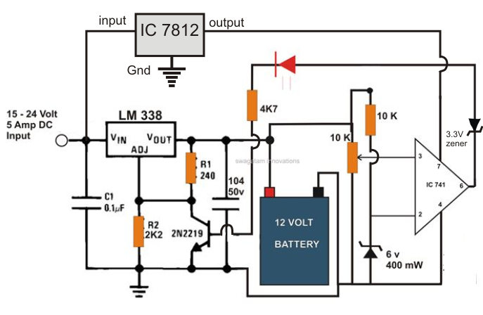 How Should I Go About Installing A 12 Volt Dc Residential Circuit as well Extracting Single Phase Voltage From besides Cool Vertical Shaft Wind Turbine Plans likewise Solar Inverter additionally Ward Leonard Speed Control System For A Dc Motor. on homemade 12v generator diagram