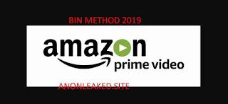 Amazon Prime Video BIN Working