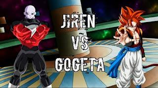 Jiren vs Gogeta