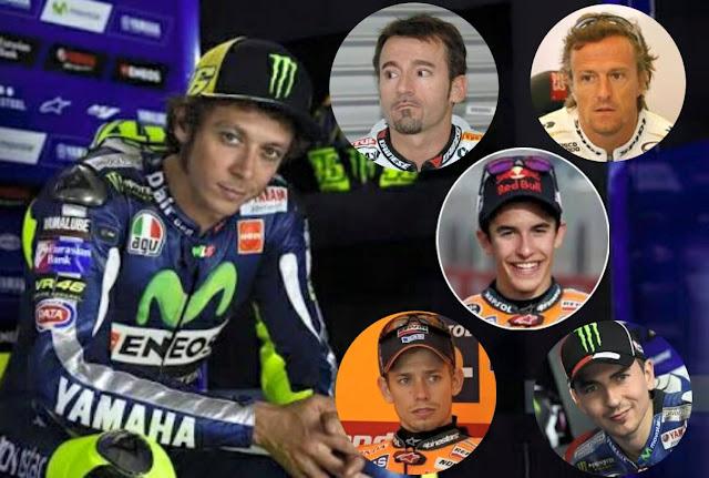 Rossi : Rival Terberat Saya Adalah Lorenzo dan Biaggi