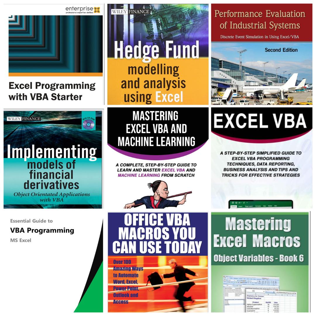 New Free Top 11 Vba Macro Excel Ebooks Free Download On