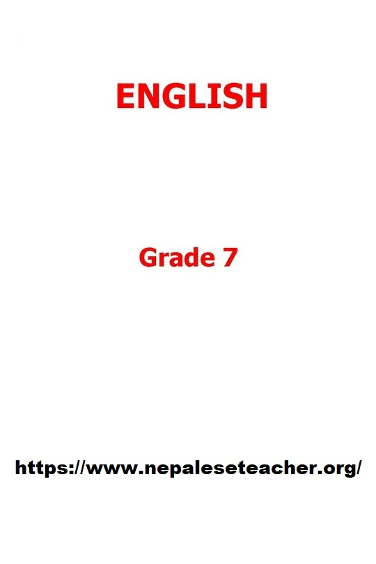 Grade 7 English Book   Class 7 English Textbook