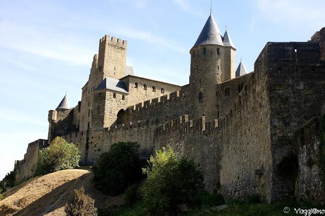 Parte delle mura di Carcassonne