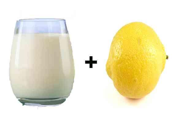 Susu dan Lemon