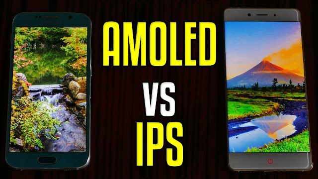 AMOLED VS IPS LCD Display Technology : Which Is Better