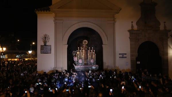 Así hubiera sido el Viernes de Dolores en Málaga sin Coronavirus
