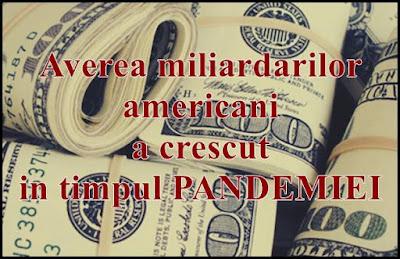 care este averea miliardarilor americani dupa pandemie