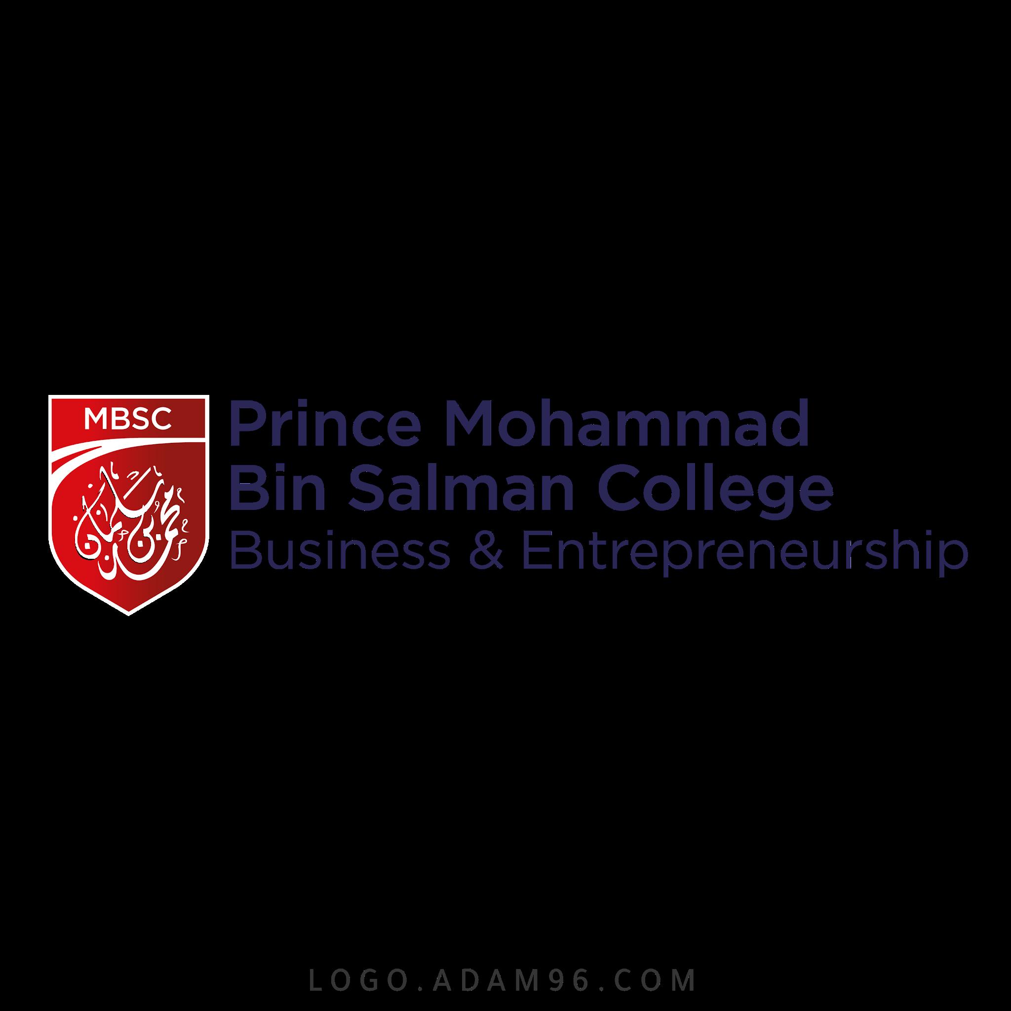 تحميل شعار كلية الأمير محمد بن سلمان لوجو رسمي عالي الجودة بصيغة PNG