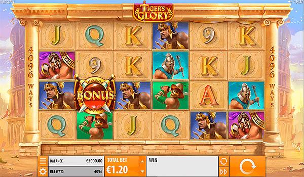 Main Slot Gratis Indonesia - Tiger's Glory (Quickspin)