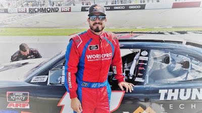 #NASCAR Driver JJ Yeley (#17)