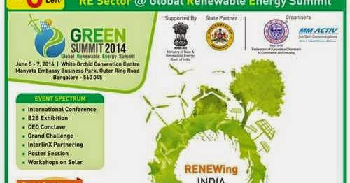 GREEN Summit 2014: June 5 - 7, 2014, Bangalore - MYREALITY