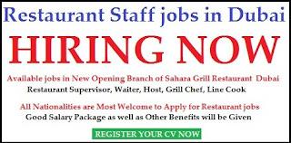 Kitchen Staff and Cashier Recruitment in Food & Beverage Company Dubai
