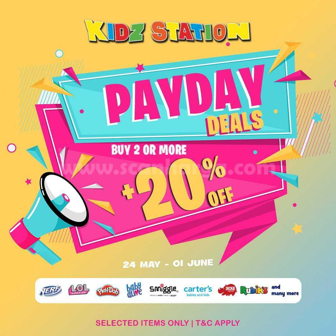 Promo Kidz Station Payday Deals - Beli 2 Diskon hingga 20%