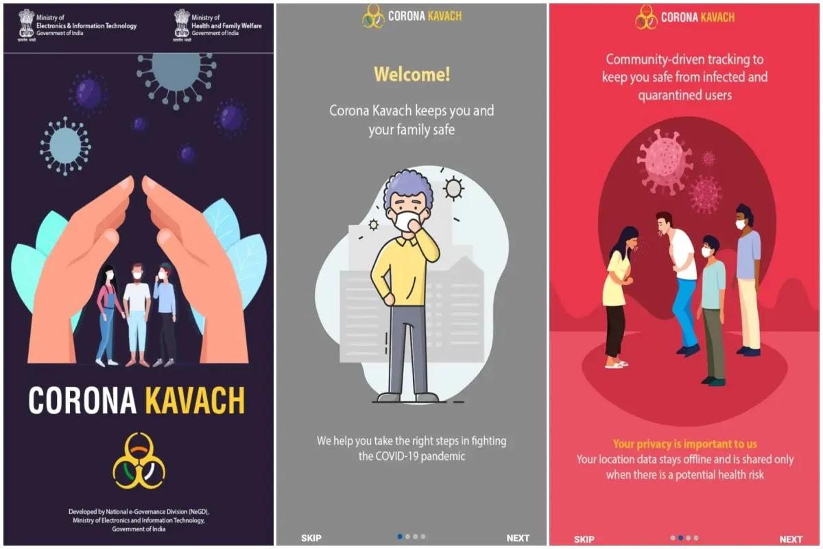 Corona Kavach App: COVID-19 कोरोना कवच गूगल ऍप प्ले स्टोर से डाउनलोड कैसे करे ?