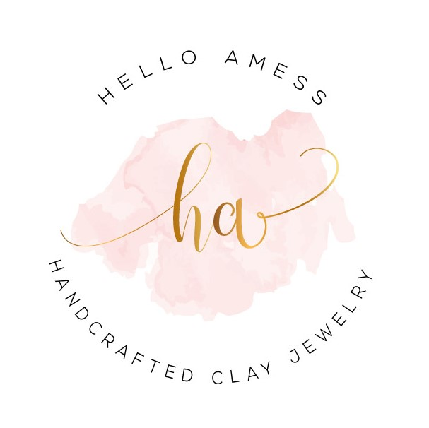 Hello Amess - handcrafted polymer clay jewelry on etsy