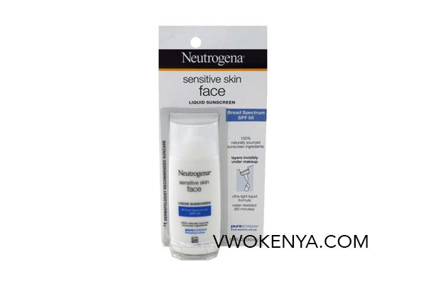 Kem chống nắng Neutrogena Sensitive Skin Face Liquid SPF 50