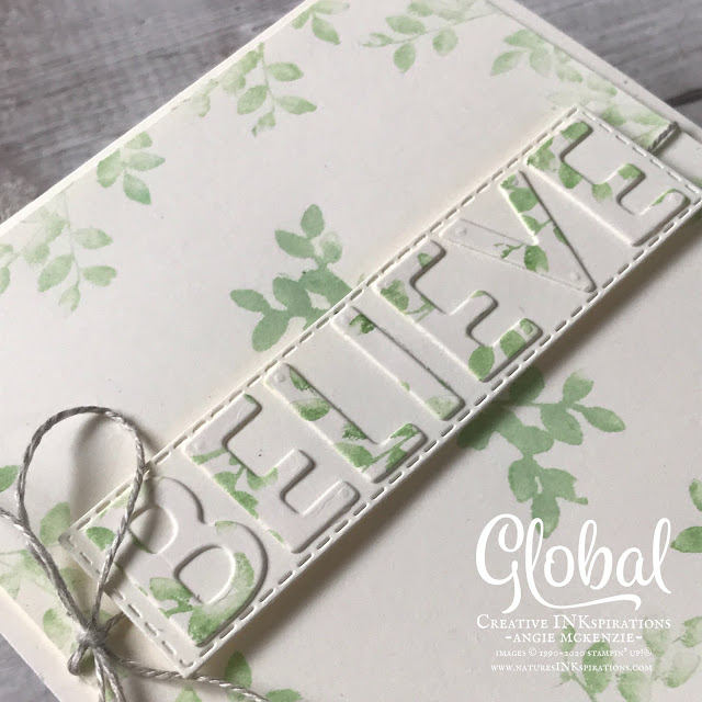 By Angie McKenzie for Global Creative Inkspirations; Click READ or VISIT to go to my blog for details! Featuring the Rooted in Nature and Silhouette Scenes Cling Stamp Sets from the Stampin' Up! 2020-21 Annual Catalog; #stampinup #handmadecards #naturesinkspirations #envelopedesigns #stationerybyangie #naturecards #nature #anyoccasioncards #friendshipcards #rootedinnaturestampset #silhouettescenesstampset #naturesrootsdies #stitchedrectanglesdies #playfulalphabetdies #stitchedshapesdies #tastefullabelsdies #cardtechniques #sponging #watercoloringstamps #globalcreativeinkspirations #gcibloghop #worlddreamday #makingotherssmileonecreationatatime