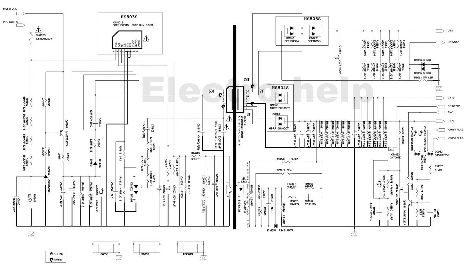 Wiring Diagram Tv Led