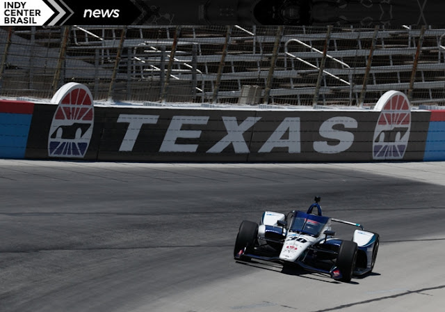 Carro de Takuma Sato no Texas