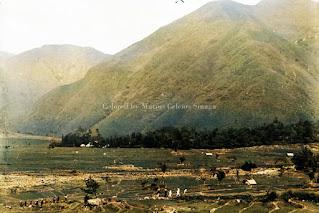 pemandangan alam desa tongging