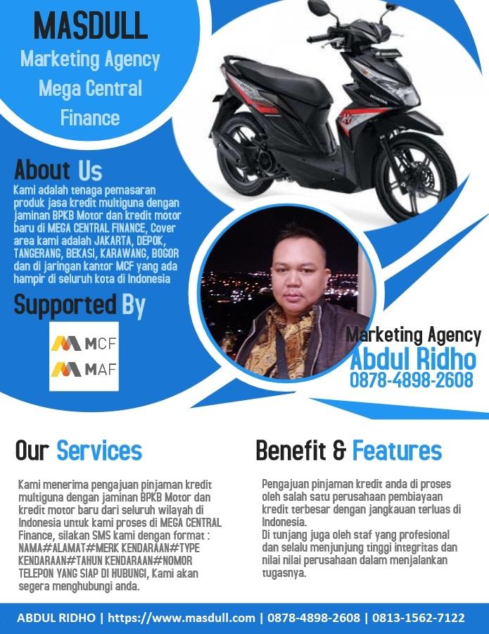 Kredit Multiguna Jaminan BPKB Motor di MEGA CENTRAL ...