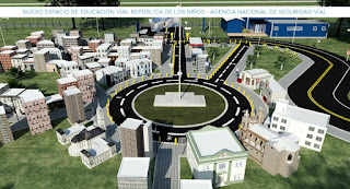 Avanza el proyecto del circuito educativo de vialidad de la Repu
