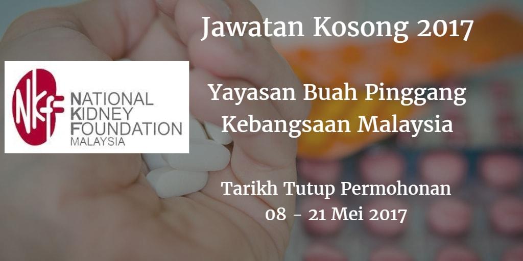 Jawatan Kosong NKF 08 - 21 Mei 2017