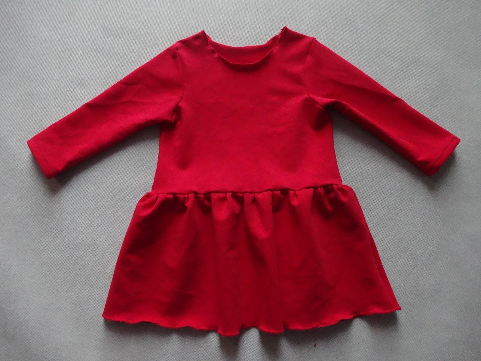 128a9bb9 ciaza-przed-40tka: Jak szybko uszyć prostą i wygodną sukienkę dla ...
