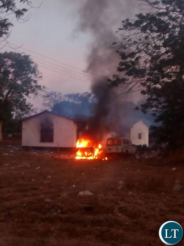 Villagers torch police post as cops try to stop coffin parade