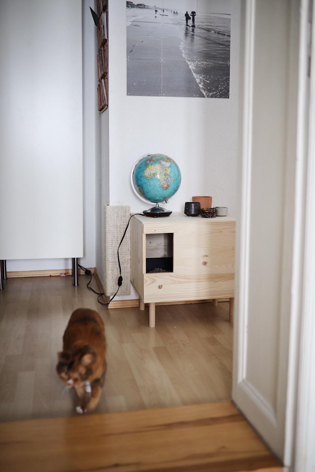 doitbutdoitnow upcycling vintage globus lampe. Black Bedroom Furniture Sets. Home Design Ideas